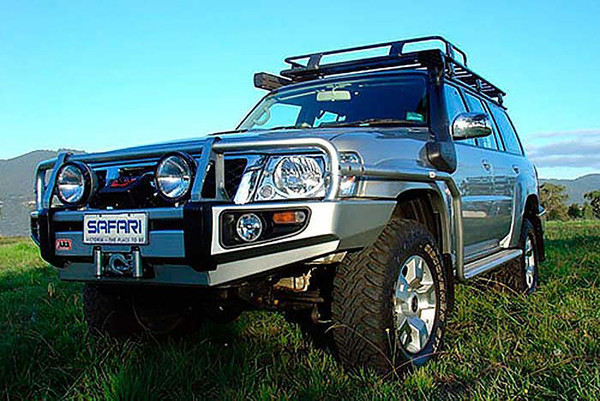 Safari 4X4 Snorkel for the Nissan GU Patrol (Y61) Series 4 ZD30DDT 3.0L Diesel