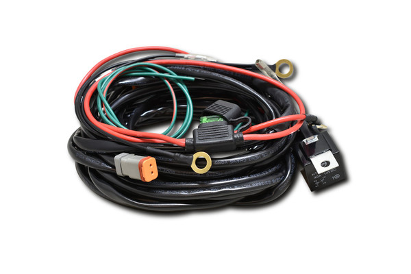 AP LED Driving Light Harness - Twin deutsch plug - 30 Amp