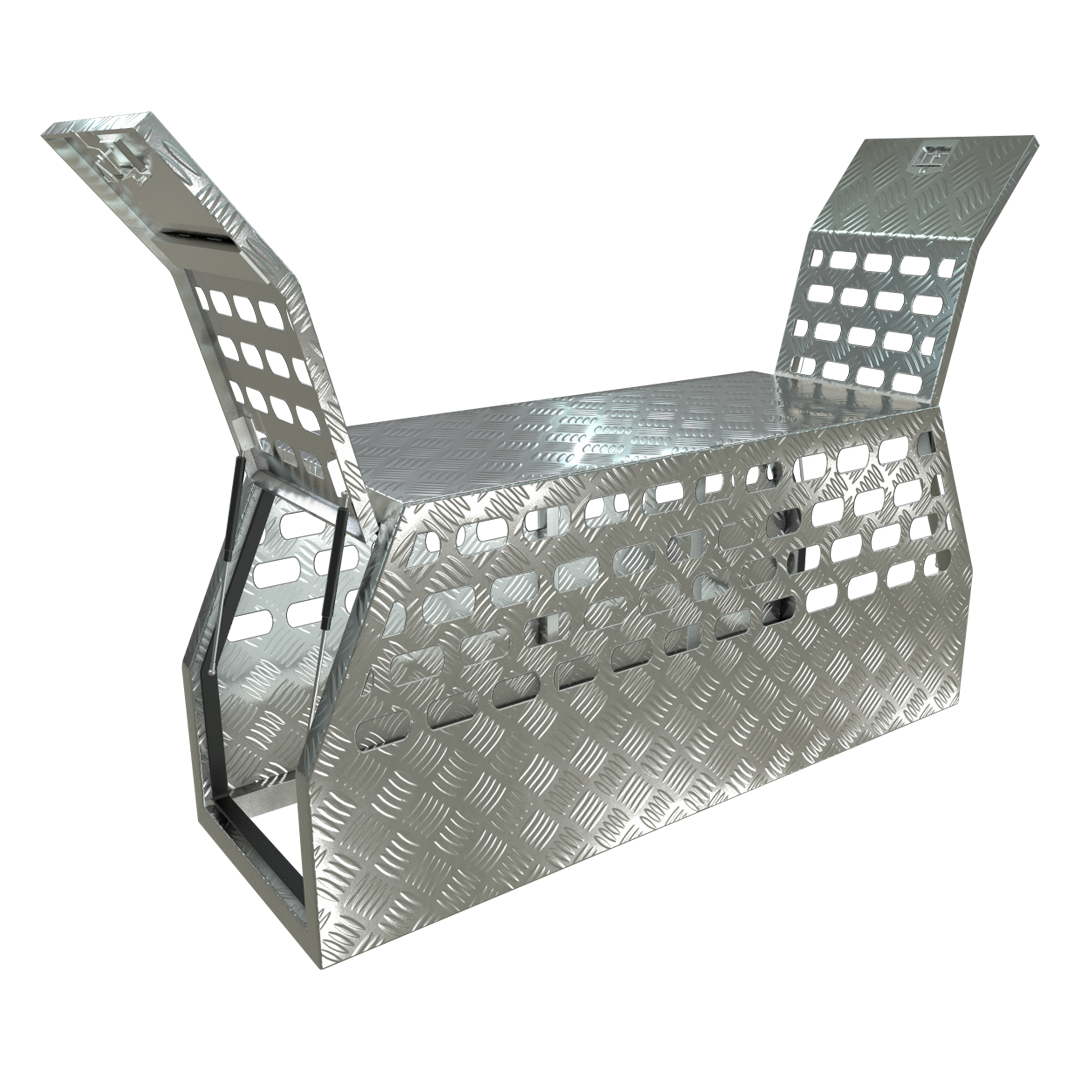 Aluminium Full Dog Box