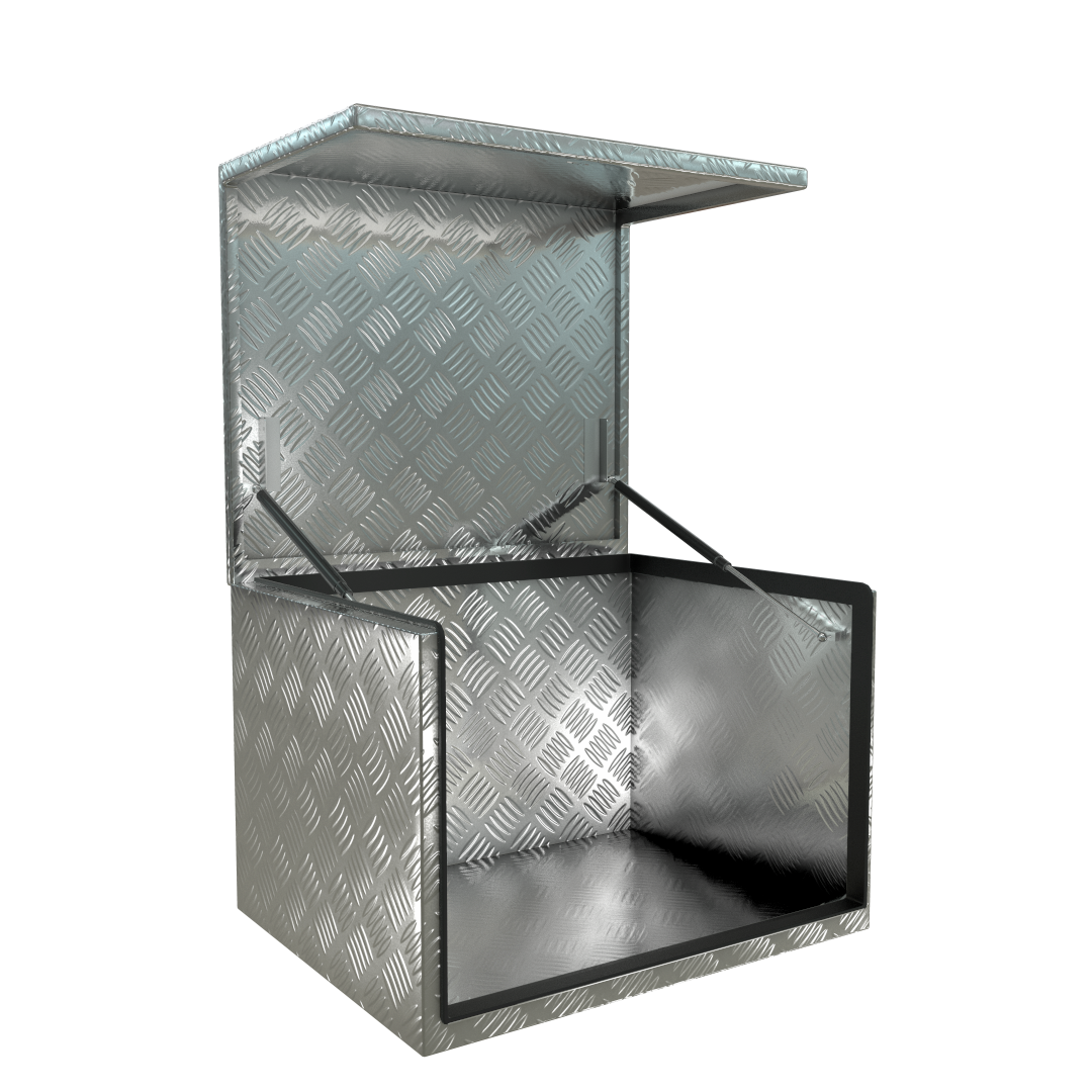 Aluminium Generator Storage Toolbox