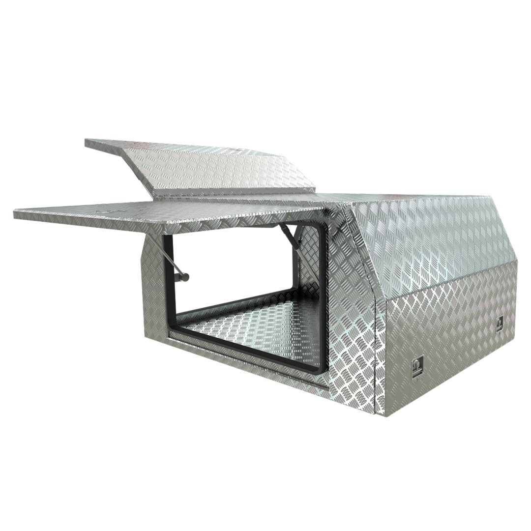 Aluminium Part Tray Canopies - 3 door