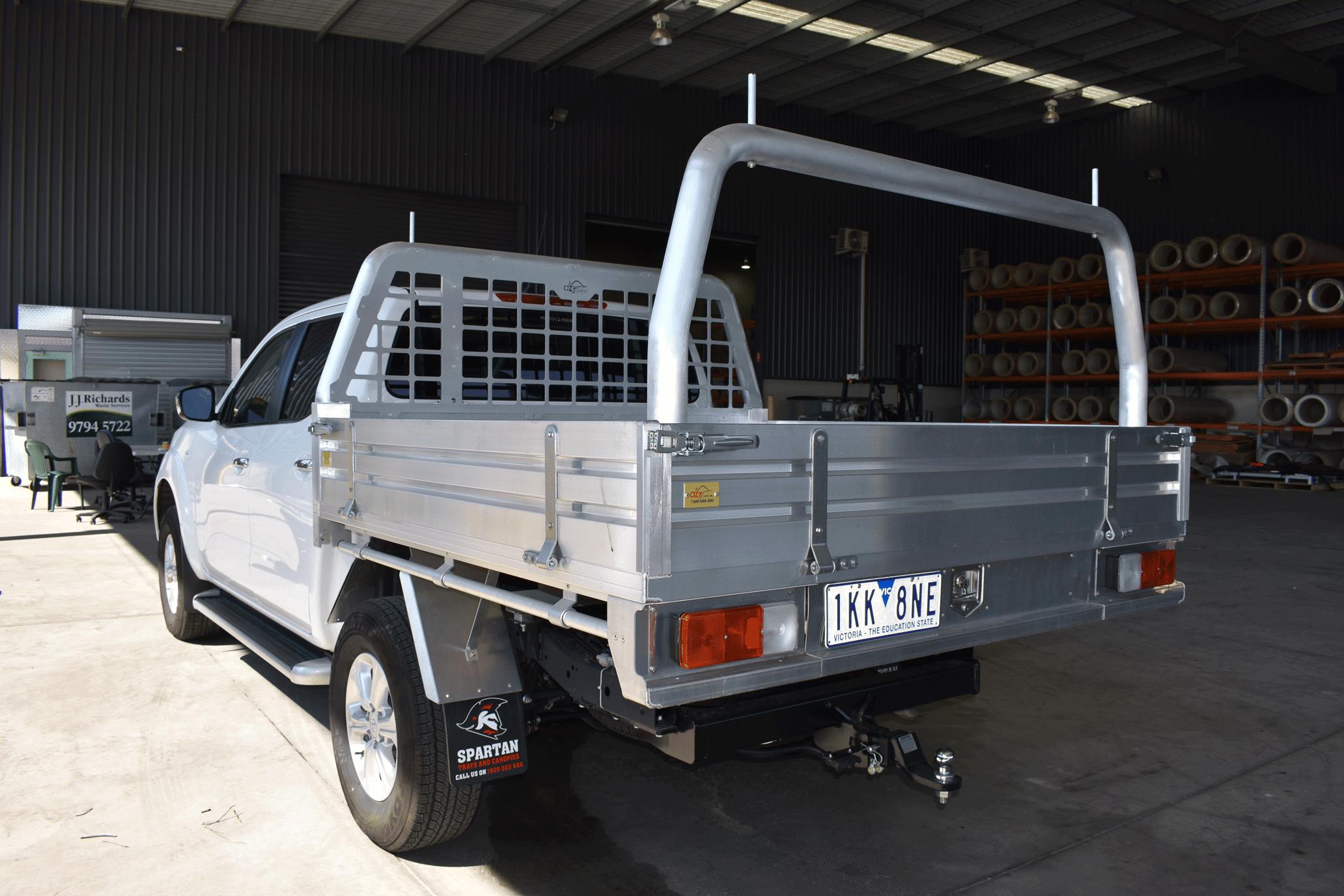 Premium Aluminum Tray Nissan D40