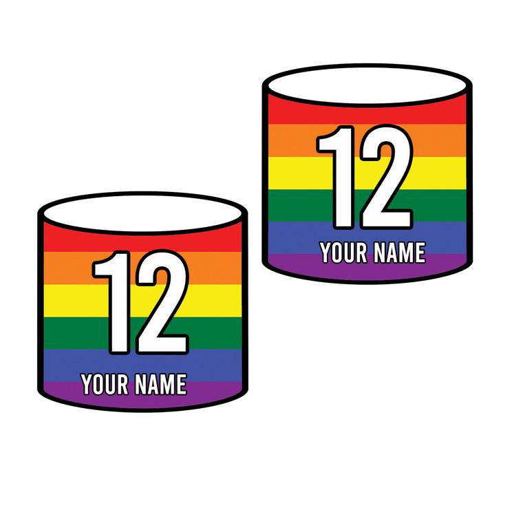 Rainbow Arm Bands