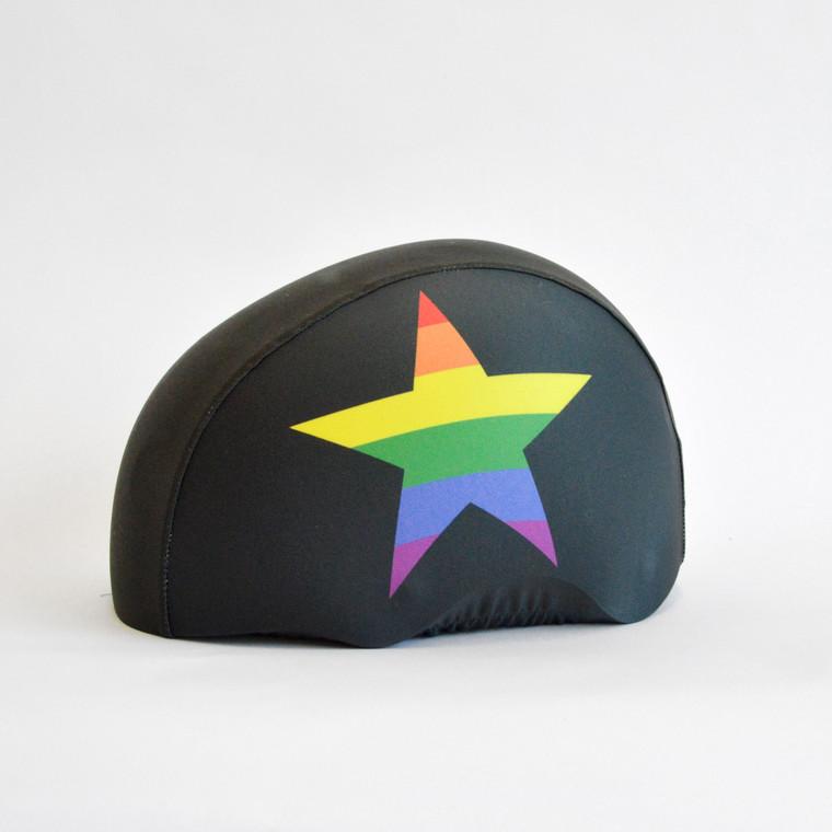 roller derby rainbow helmet covers