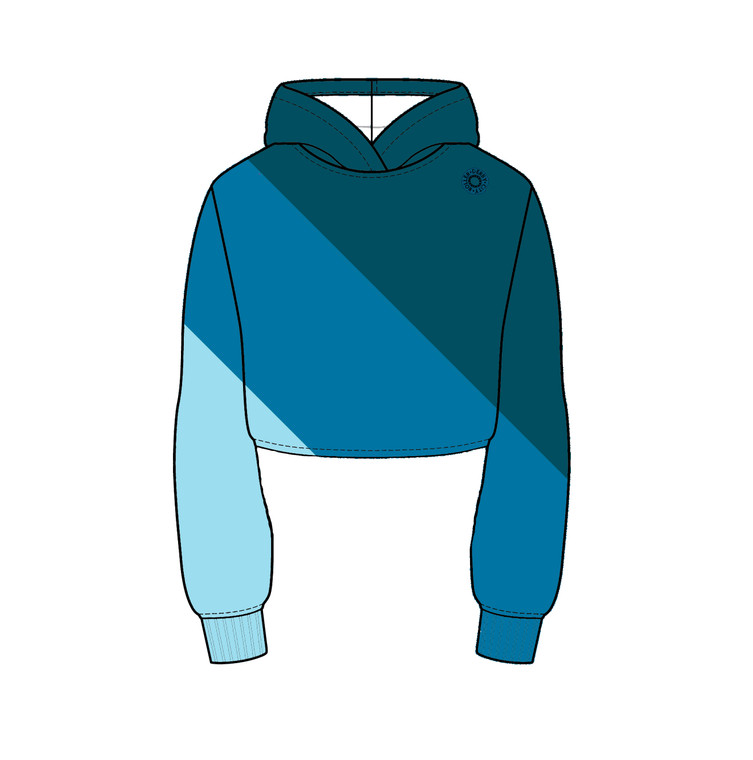 Diagonals Essential Warm Up Hoodie