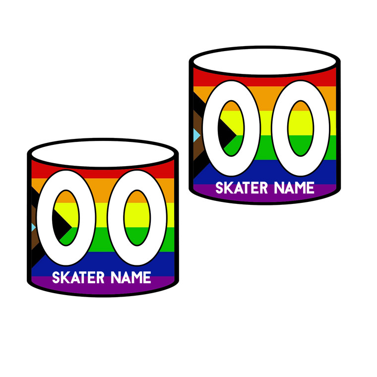 Skate With Pride Arm Bands