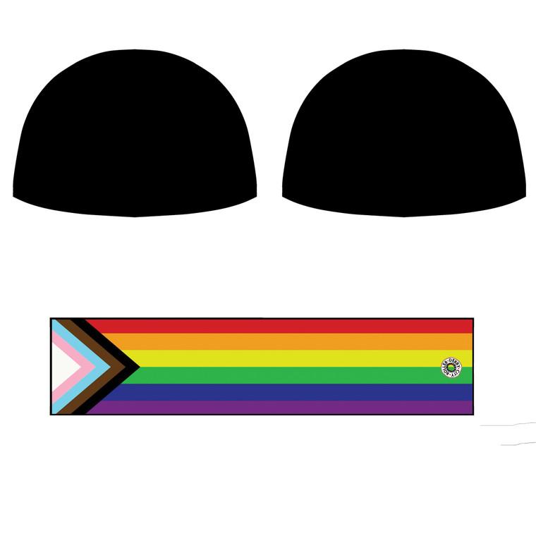 Skate With Pride Helmet Covers