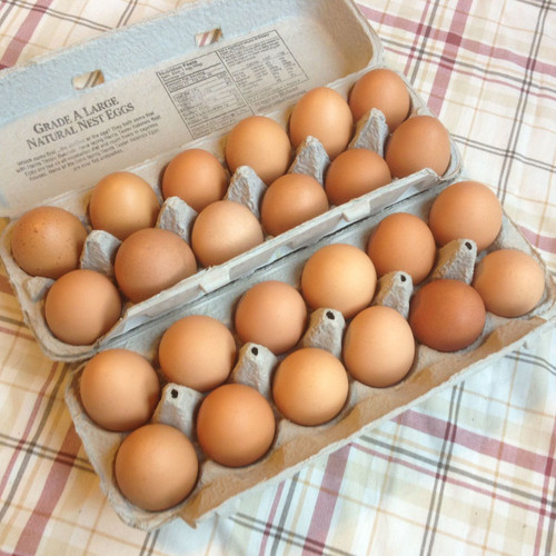 Eggs - Two Dozen Jumbo