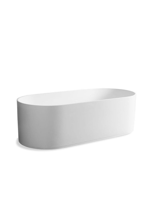 JEE-O soho bath freestanding bathtub with integrated overflow made of DADOquartz