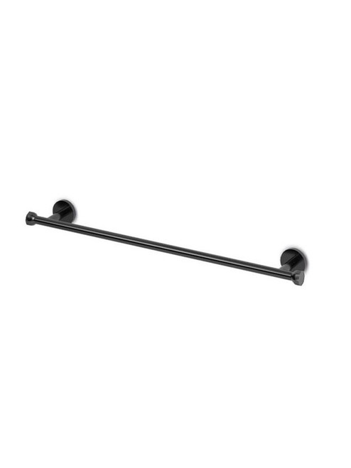 JEE-O bloom wall mounted towel bar in PVD gun metal stainless steel