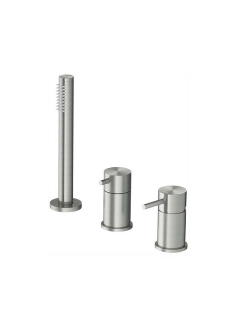 Archie AR075 316 Stainless Steel Deck Mount Bath Set with Hand Shower