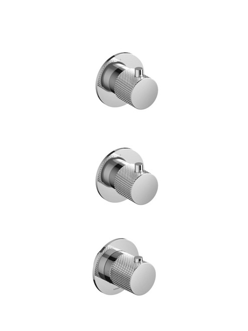 Cobber-X CX7066 Thermostatic Mixer with 2 Stop Valves - Trim only