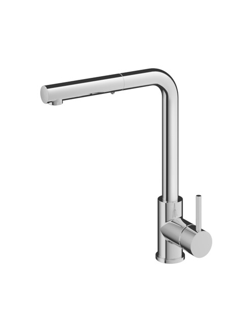 Fellow FKM15 Single Hole Kitchen Faucet with Pull-Out Dual Spray