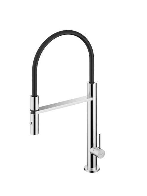 Fellow FKM11 316 Stainless Steel Single Hole Kitchen Faucet with Pull-Down Dual Spray