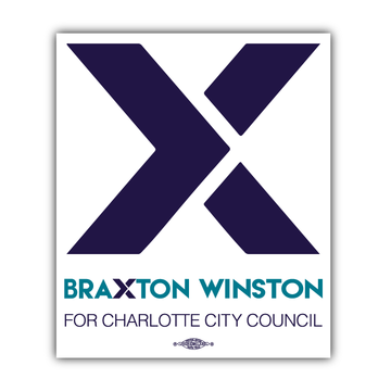 """X"" Braxton Winston Logo (5"" x 4"" Vinyl Sticker -- Pack of Two!)"