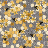 2735-11 Gray || Bloomin' Poppies