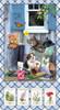 9997P-11 || Kittens in the Garden