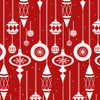 9628-88 Red    Holiday Lane