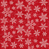 F9527-88 Red    Winter Elegance 2-Ply Flannel