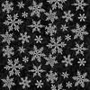 F9527-99 Black    Winter Elegance 2-Ply Flannel