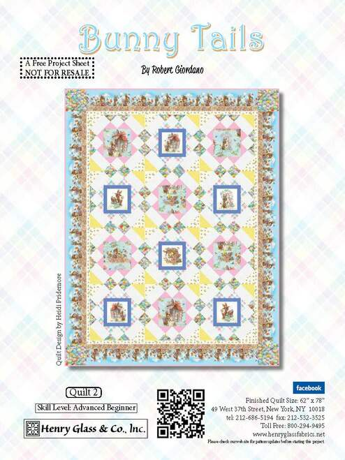 Bunny Tails Quilt #2