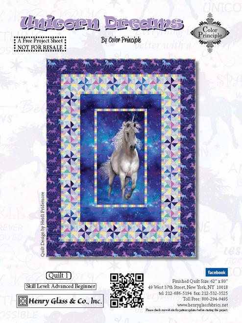 Unicorn Dreams Quilt #1
