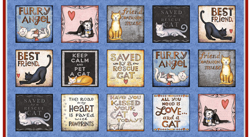 9906-77 Multi    All You Need is Love and a Cat
