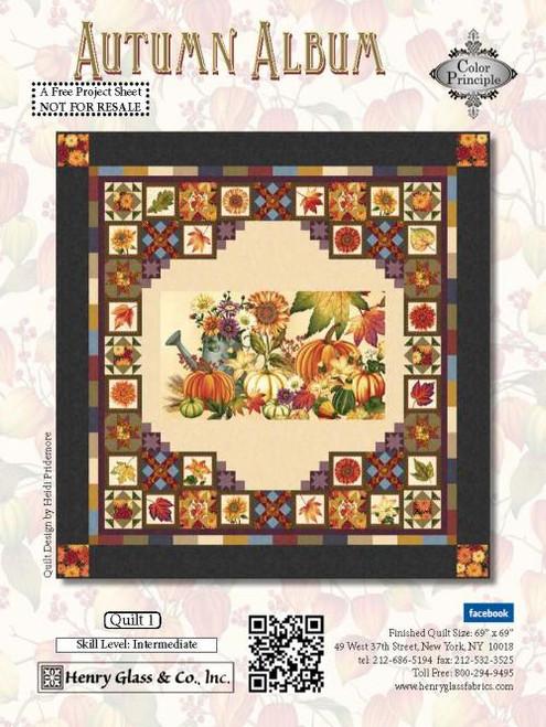 Autumn Album Quilt #1