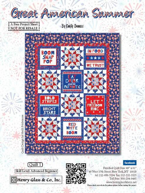 Great American Summer Quilt #1