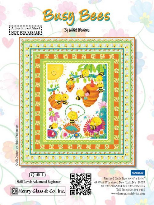 Busy Bees Quilt #1