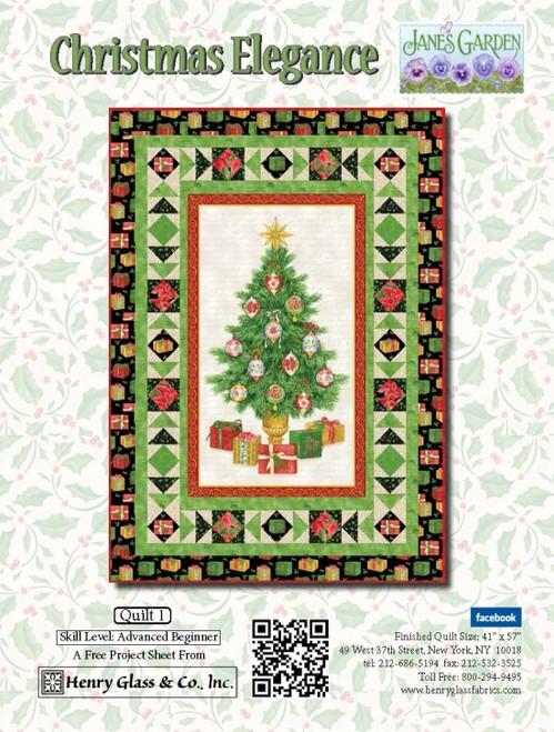 Christmas Elegance- Quilt 1