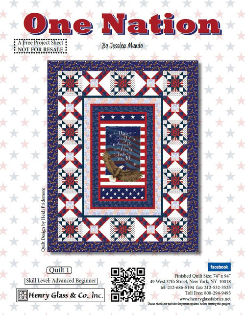 One Nation Quilt #1