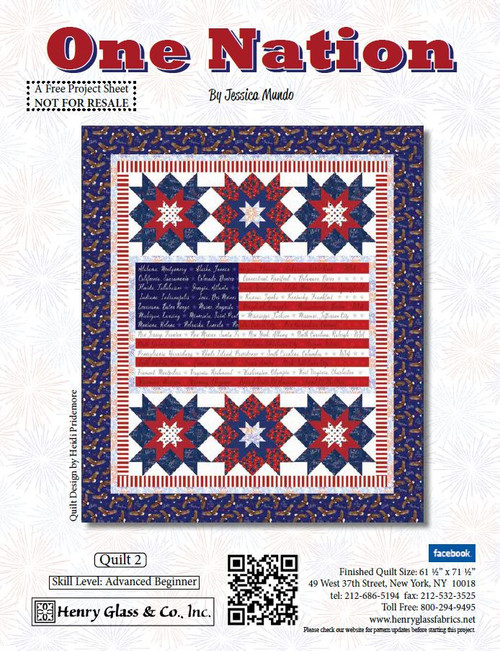 One Nation Quilt #2
