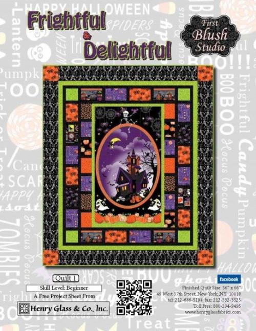 Frightful & Delightful- Quilt 1