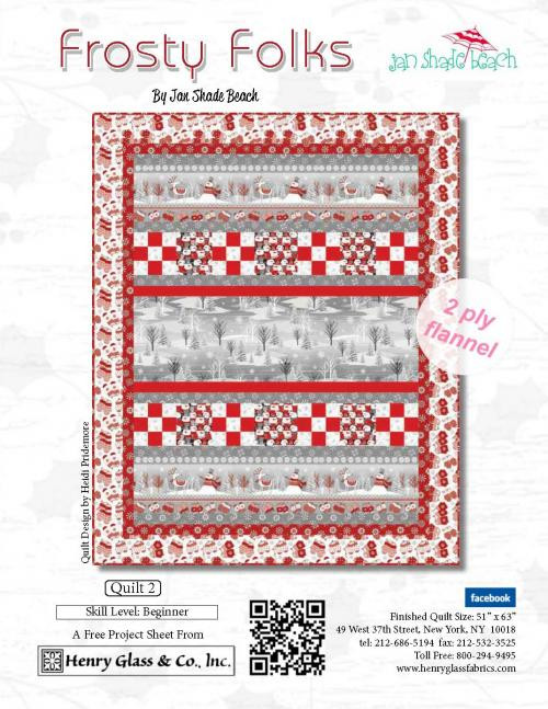 Frosty Folks Quilt 2
