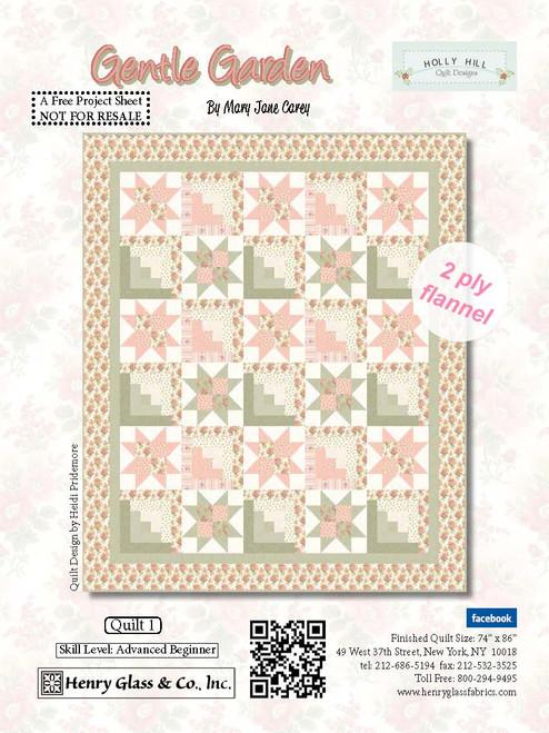 Gentle Garden Quilt #1