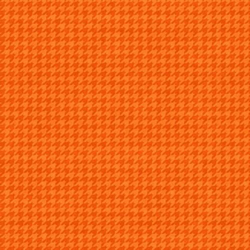 8624-36 Tangerine || Houndstooth Basics