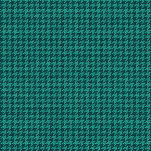 8624-78 New Teal    Houndstooth Basics