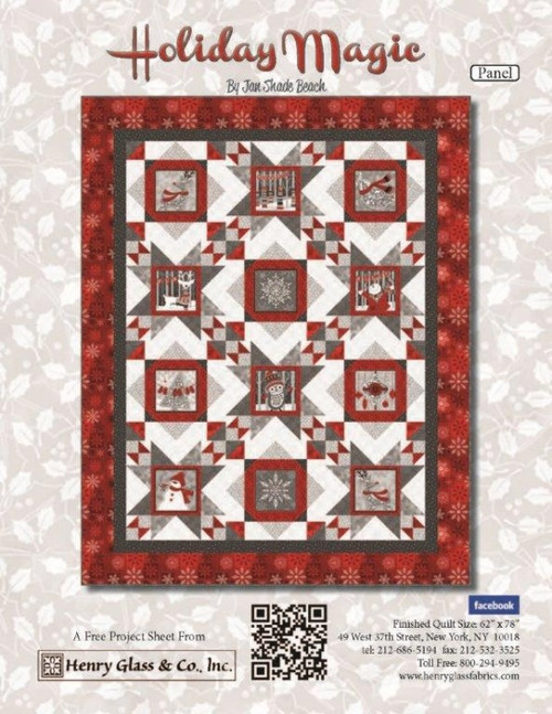 Holiday Magic- Panel Pattern