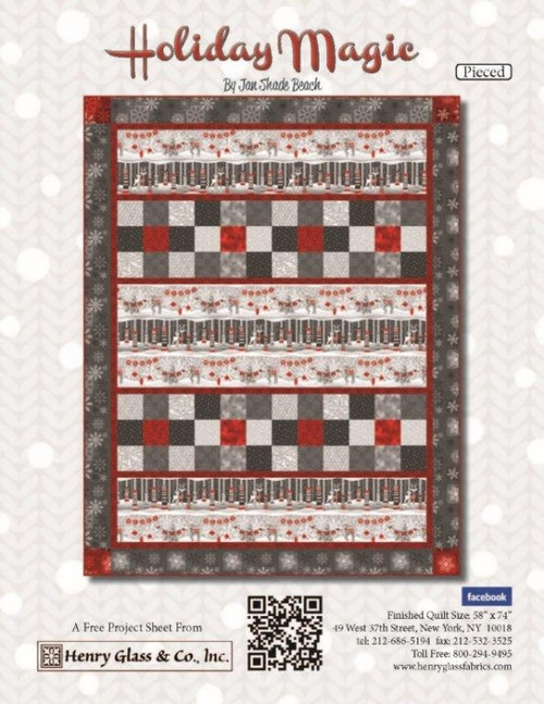 Holiday Magic- Pieced Pattern