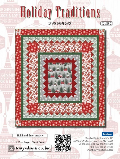 Holiday Traditions- Quilt 2
