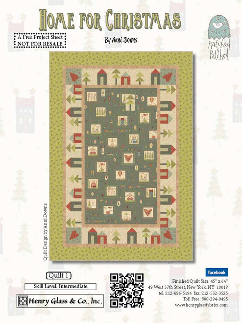 Home By Christmas.Fabric Lines Sold Out Here Now In Quilt Shops Home For