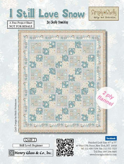 I Still Love Snow Quilt #2