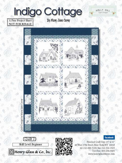 Indigo Cottage Quilt #2