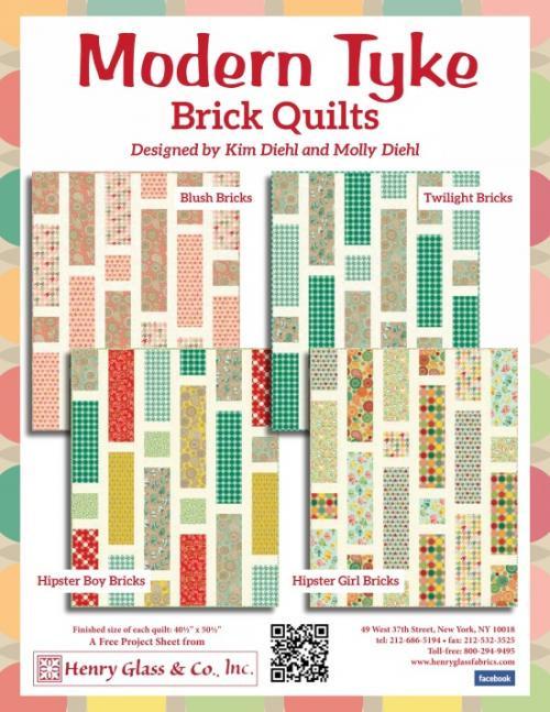 Modern Tyke - Brick Quilts