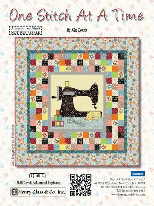 One Stitch at a Time Quilt #2