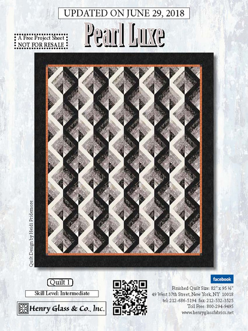 Pearl Luxe Quilt #1