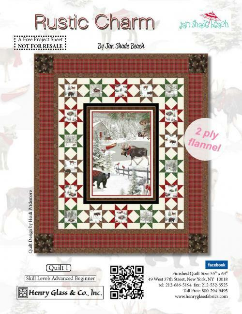 Rustic Charm Quilt #1 , Projects, Henry Glass &