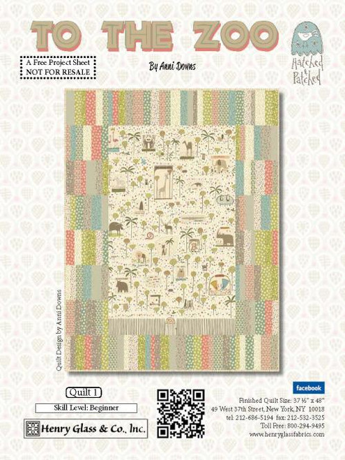 To The Zoo Quilt #1