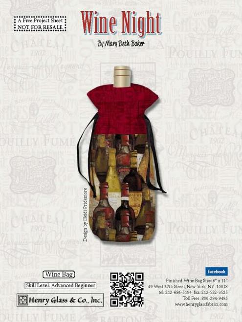 Wine Night Wine Bag